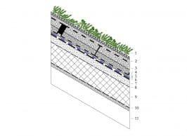 Фото Состав покрытия скатных крыш с уклоном до 45 градусов